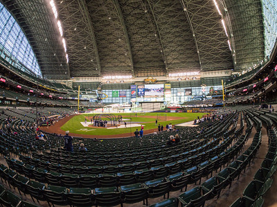 Fisheye Fun at Miller Park