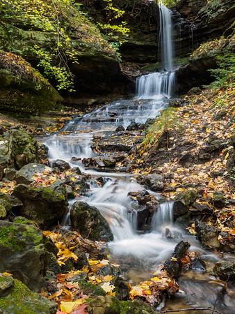 Fall Color-Waterfalls